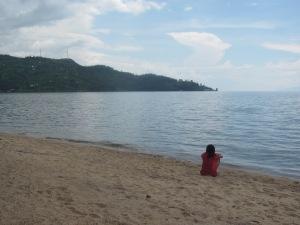 At Lake Kivu, Giseyni Rwanda