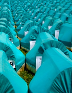 GYC delegations have been attending the special memorial day in Srebrenica since 2005.