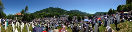Srebrenica Genocide Memorial and Burial 2015